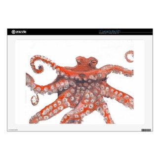 """Octopus Squid Kraken Painting Skins For 17"""" Laptops"""