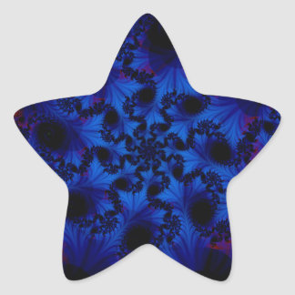 octopus star sticker