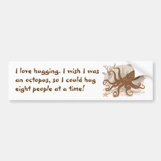 Octopus Starfish Coral Reef Car Bumper Sticker