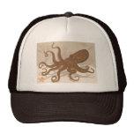 Octopus Starfish Coral Reef Trucker Hat