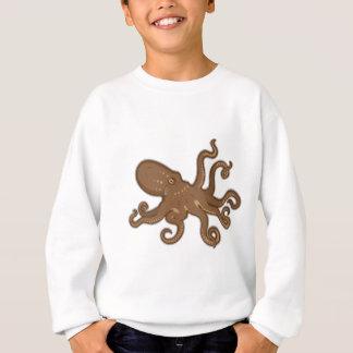 Octopus swimming sweatshirt