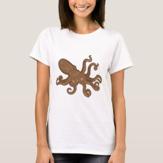Octopus swimming T-Shirt