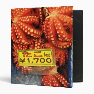Octopus | Tako たこ Tsukiji Fish Market Binder