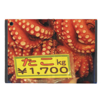 Octopus | Tako たこ Tsukiji Fish Market Cover For iPad Mini