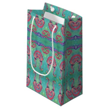 Beach Themed octopus tentacles gift bag