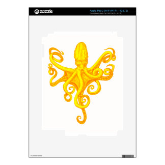OCTOPUS THE RISE iPad 3 DECALS