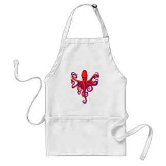 OCTOPUS THE VISION ADULT APRON