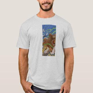 Octopus Tiled T Shirt