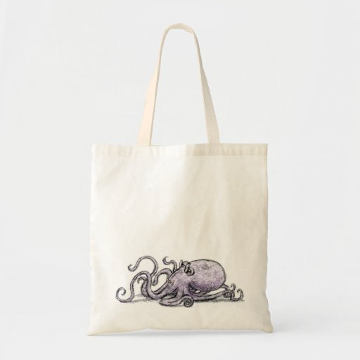 Octopus Tote Canvas Bags
