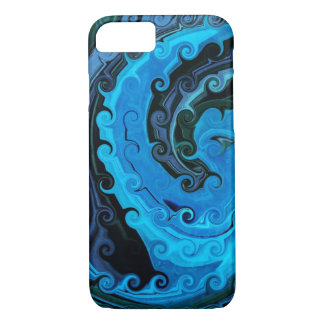 Octopus Under The Sea Abstract iPhone 7 Case