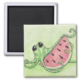 Octopus & Watermelon Magnet