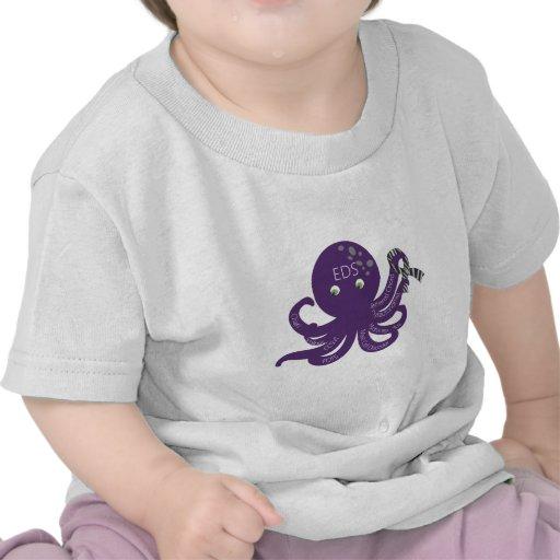 Octopus White Back Ground Shirt