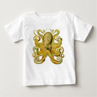 Octopus Yellow Baby T-Shirt