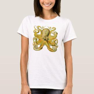 Octopus Yellow T-Shirt