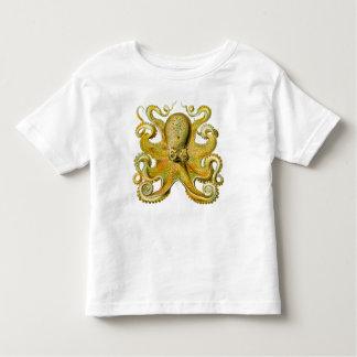 Octopus Yellow Toddler T-shirt