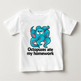 Octopuses ate my homework baby T-Shirt