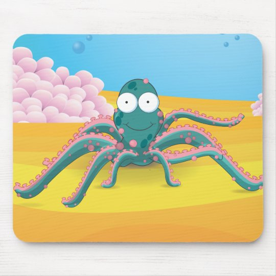 octopuses mouse pad