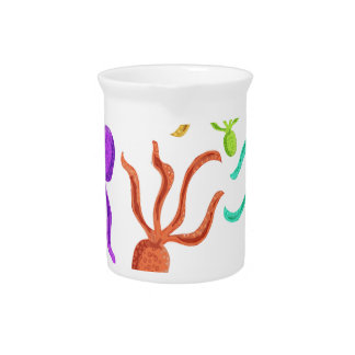 Octopuses pattern pitcher