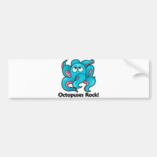 Octopuses Rock! Bumper Sticker