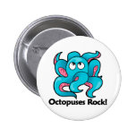Octopuses Rock! Buttons