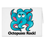 Octopuses Rock! Greeting Card