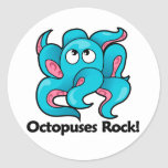 Octopuses Rock! Stickers