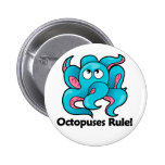 Octopuses Rule! Buttons