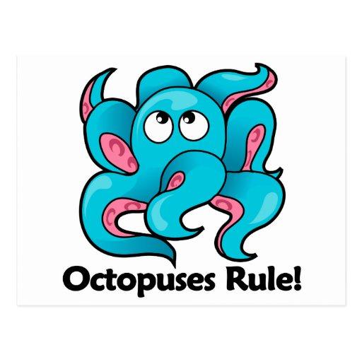 Octopuses Rule! Postcard