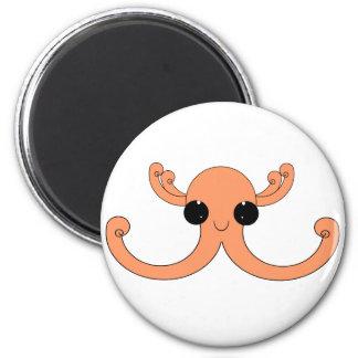 Octopuss amelocotonado imán