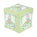 OCTOPUSS BABY COTTON Cubed Pouf (Small)