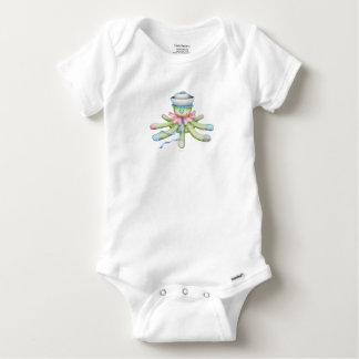 OCTOPUSS BABY CUTE Baby Gerber Cotton O Baby Onesie