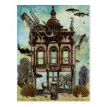 Octopus's House Undersea Postcard