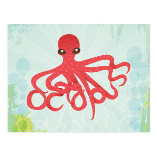 Octopuss Postcard