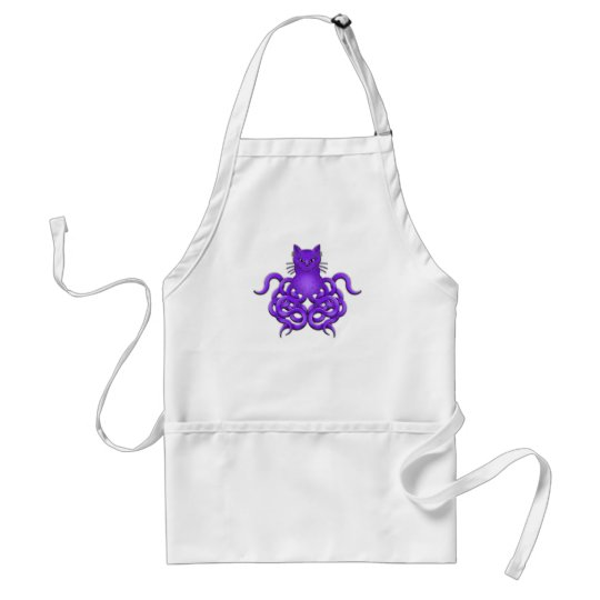 OCTOPUSSY ADULT APRON