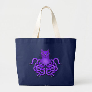 OCTOPUSSY TOTE CANVAS BAGS