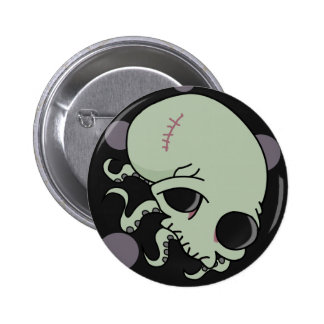 Octoskull Button
