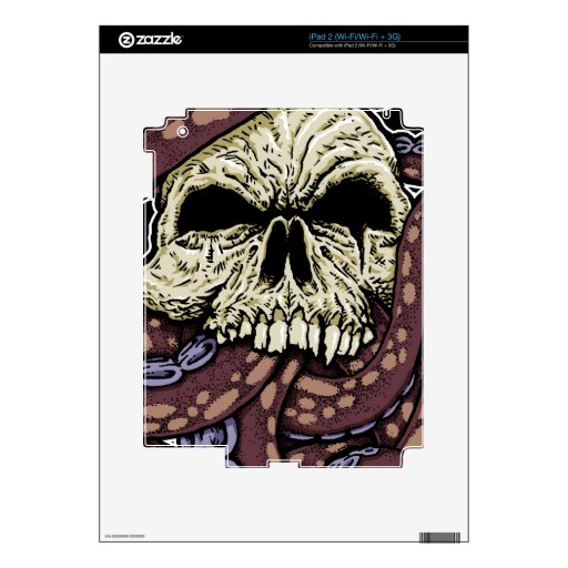 Octoskull iPad 2 Skins