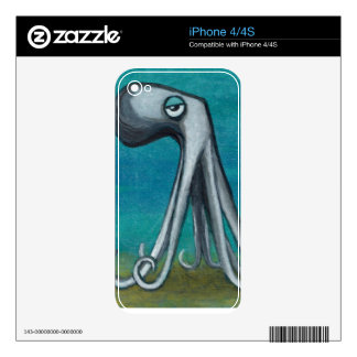 """Octosquid""_We all know one iPhone 4 Decals"