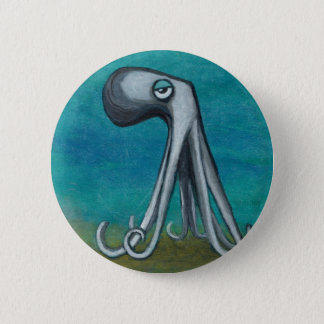 """Octosquid""_We all know one Pinback Button"