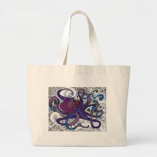 octpus! canvas bags