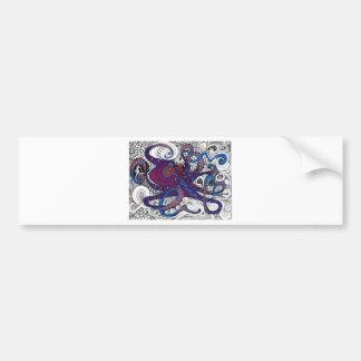 octpus bumper stickers