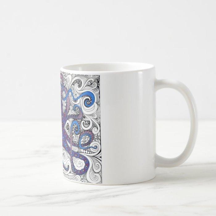 octpus! coffee mug