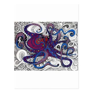 octpus! postcard