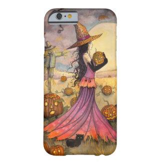 Octubre coloca el caso del iPhone 6 de la bruja de Funda Barely There iPhone 6