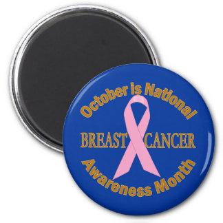OCTUBRE es mes de la conciencia del cáncer de pech Imán Redondo 5 Cm