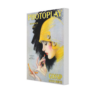 Octubre Photoplay Impresión En Lona Estirada