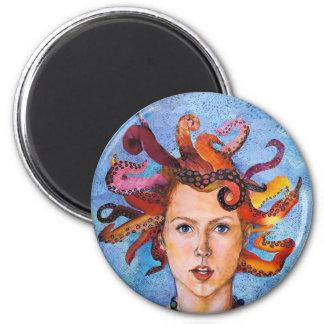Octupi My Mind 2 Inch Round Magnet