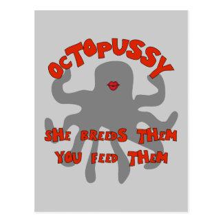 Octuplet Breeding Machine Postcard