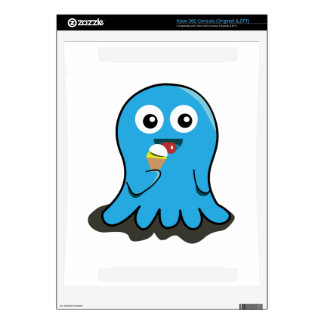 Octupus eating icecream cartoon xbox 360 skins