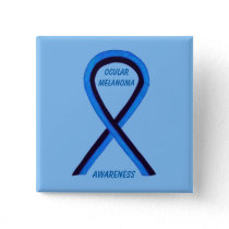 Ocular Melanoma Awareness Ribbon Angel Custom Pin